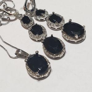 Jewelry set Silver Like